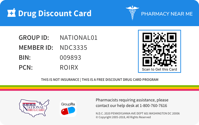 Prescription Drug Discount Card - Pharmacy Near Me